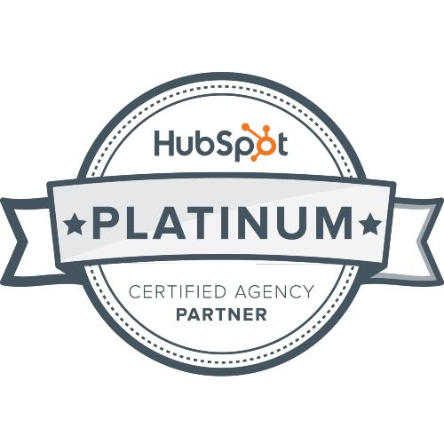 hubspot platinium badge